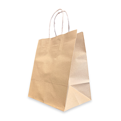 8.5x6x10 Uncoated Natural Kraft Stock Bag