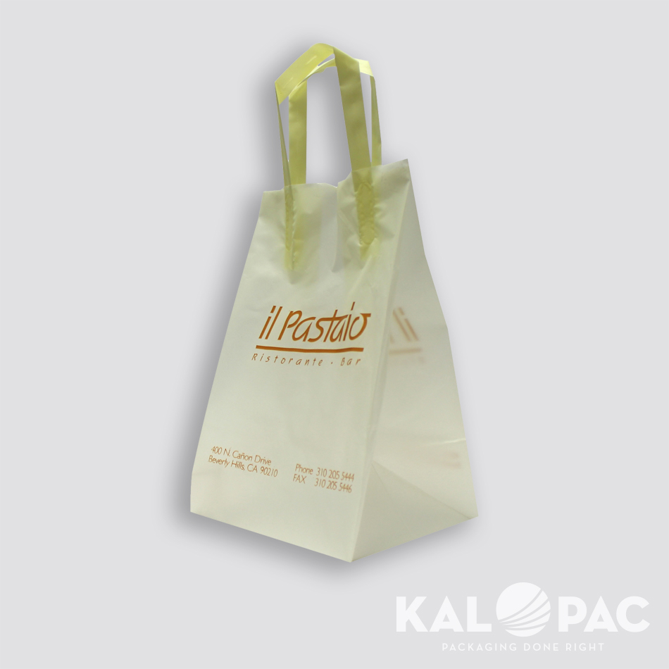 Trifold Take Out Bag